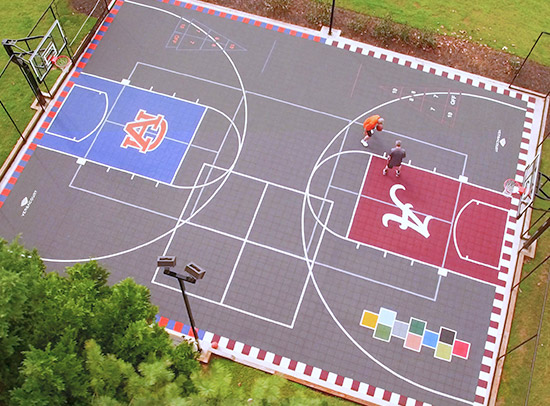 home game court